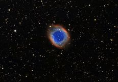 La nebulosa dell'elica, anche conosciuta come l'elica, immagine stock