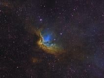 La nebulosa dello stregone Fotografie Stock Libere da Diritti