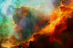 La nebulosa di Omega o nebulosa del cigno nello spazio cosmico royalty illustrazione gratis