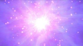 la nebulosa 4k protagoniza el espacio de los túneles del universo del laser de la energía de los rayos, radiación atómica del fue stock de ilustración