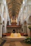 La nef - cathédrale de Norwich Photographie stock libre de droits