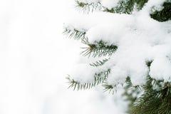 La neige a couvert la route photographie stock