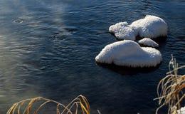 La neige et le gel Photos libres de droits