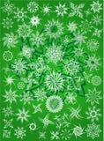 La neige s'écaille configuration de tatouage Photographie stock