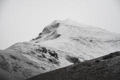 La neige vient Photographie stock