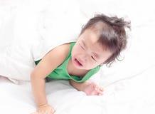 La neonata sta gridando Fotografie Stock Libere da Diritti