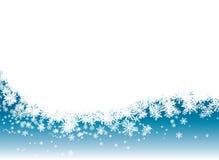 La neve rivela Fotografia Stock