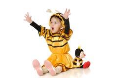 La niña Imagen de archivo libre de regalías