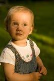 La niña Imagen de archivo