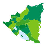 La Nicaragua immagine stock