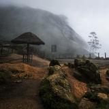 La niebla de la monzón imágenes de archivo libres de regalías