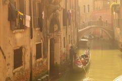 La niebla en Venecia Fotografía de archivo