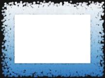 La nieve forma escamas el marco 2 Imágenes de archivo libres de regalías