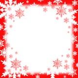 La nieve forma escamas fondo Fotografía de archivo