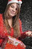 La nieve que cae fotos de archivo libres de regalías