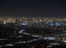 LA at Night Stock Photography