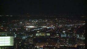 La night city timelapse stock video