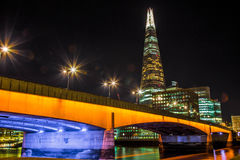 la noche Londres Imagen de archivo libre de regalías