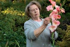 La nonna Fotografia Stock Libera da Diritti