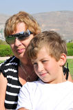 La nonna e nipote Immagine Stock Libera da Diritti