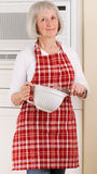 La nonna sa cuocere Immagini Stock Libere da Diritti