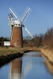 La Norfolk Broads dans le sud-est de l'Angleterre Photographie stock libre de droits