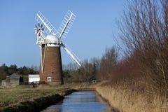 La Norfolk Broads en Angleterre du sud-est Photographie stock libre de droits