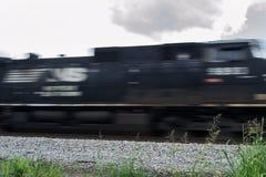 La Norfolk e treno del sud immagini stock