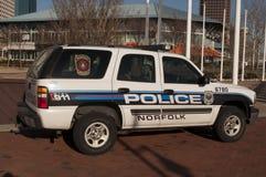La Norfolk Virginia Police Fotografie Stock Libere da Diritti