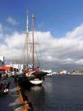 La Norvège Bergen Port Images stock