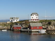 La Norvège côtière Images libres de droits
