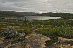 La Norvège du nord 1 Images libres de droits