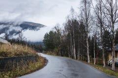 La Norvège du nord Image stock