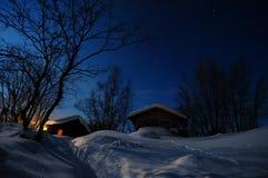 la Norvège du nord Image libre de droits