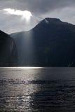 La Norvège, fjord, geiranger Photo stock