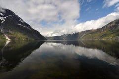 La Norvège, fjord norvégien Photos stock