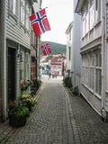 La Norvège, Jour de la Déclaration d'Indépendance, le 17 mai Image libre de droits