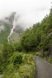 La Norvège - le parc national de Jostedalsbreen - nature Image libre de droits