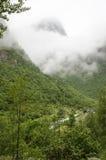 La Norvège - le parc national de Jostedalsbreen - vue Images libres de droits