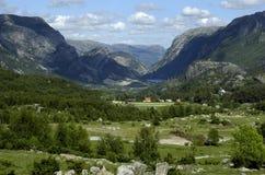 La Norvège, montagnes scandinaves Photo libre de droits