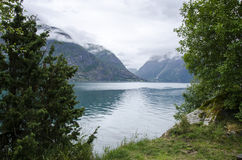 La Norvège - beau paysage Photographie stock