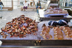 La Norvège, nourriture Image stock