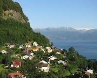 La Norvège scénique Image libre de droits