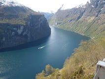 La Norvège stupéfiante Images libres de droits