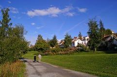 La Norvège, Trondheim Photos libres de droits