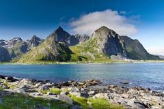 La Norvegia fotografie stock libere da diritti