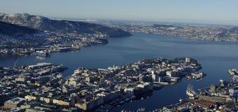 La Norvegia, Bergen Fotografia Stock
