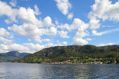 La Norvegia - Boknafjord fotografia stock