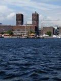 La Norvegia dal mare fotografia stock libera da diritti