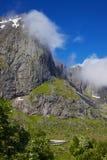 La Norvegia di viaggio Immagine Stock